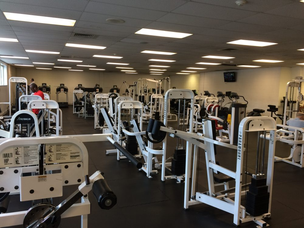 Community Center Weight room