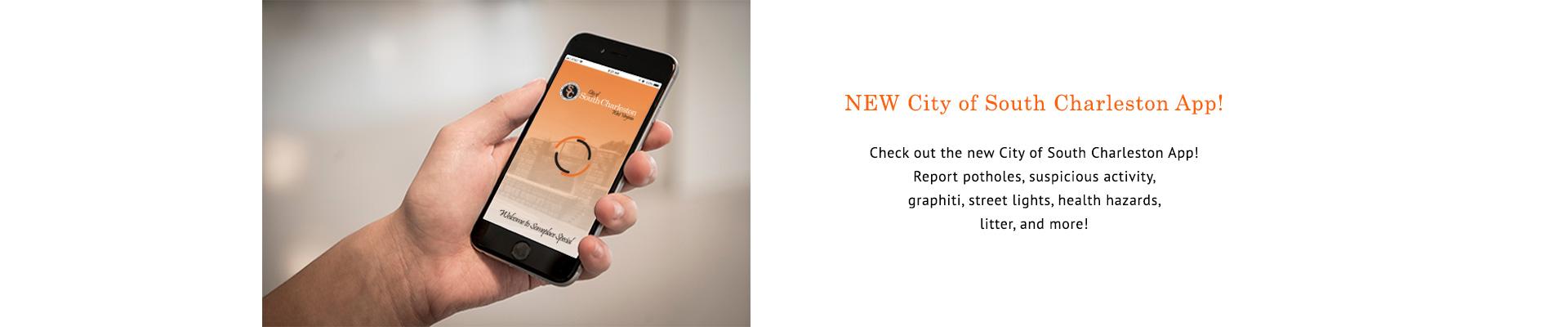 City of South Charleston Mobile App
