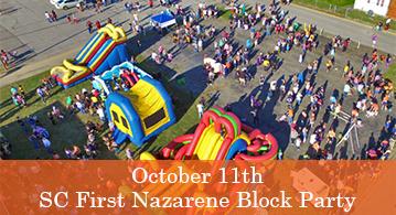 SC / First Nazarene Block Party