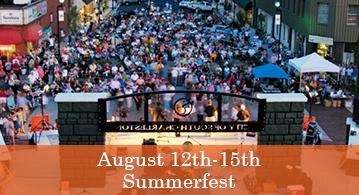 Summerfest August 14 - 17