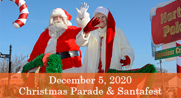 Christmas Parade & Santafest, December 5th
