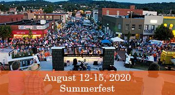 Summerfest, August 12 - 15